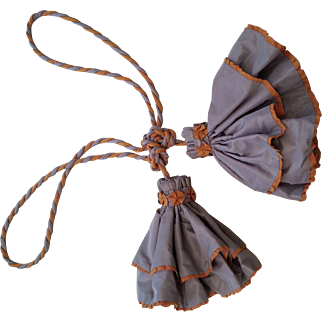 Vintage Handmade Silk Tassel