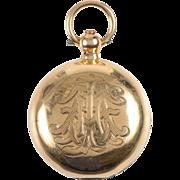 18 KT. Gold Sovereign Case / Locket