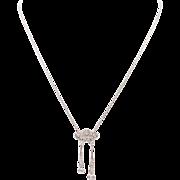 Edwardian Diamond Negligee Necklace