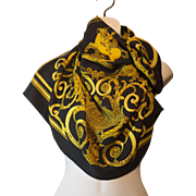 Vintage Authentic Hermes Les Tuileries Silk scarf