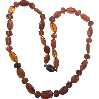 Antique Victorian Natural Amber necklace