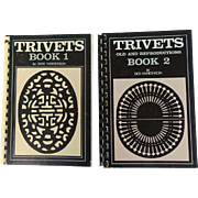 Trivets Book 1 and Trivets Book 2 (Old and Repro), Hankenson, 1972