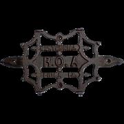 Cast Iron Centennial R. O. A. Sadiron Stand Philadelphia, PA