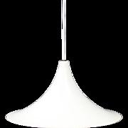 Fog and Mørup White trompet lamp, 1960s