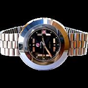Vintage Watch Rado Diastar Automatic 30J Swiss Tungsten 41mm Men 1970c Working