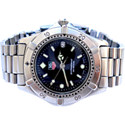 Watch TAG HEUER Professional 200M WE1210 Men´s Serie 2000 Working