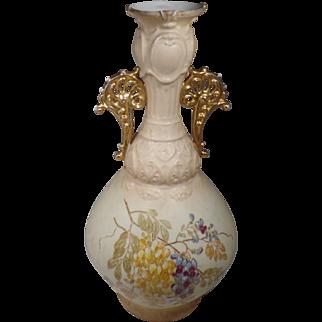 """Vintage, 12"""" Royal Rudolphstat Vase, Made in Germany"""