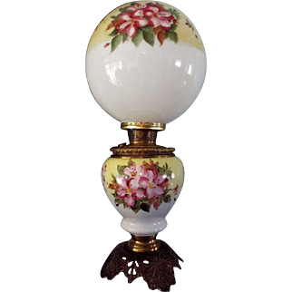 1895 Bradley and Hubbard Banquet Oil Lamp