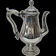 18th century American coffee pot
