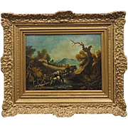 19th Century Oil Painting From European School