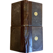 "Extremely Rare 19th Century Book ""Diary Of The American Revolution"" by Frank Moore – 2 Volumes (Signed 1st Edition & 1st Printing)"