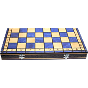 Collapsible Wood Chess Set