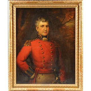 19th Century Portrait of Honorable Major Alexander Murray by James Lonsdale