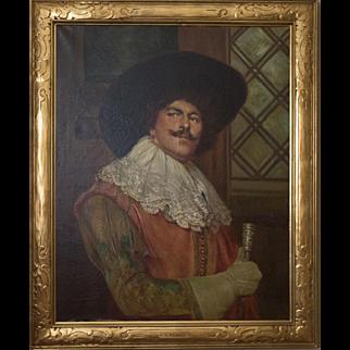 Oil Portrait Painting by Alex De Andreis