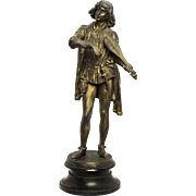 Large 19th Century Dumaige Bronze Sculpture