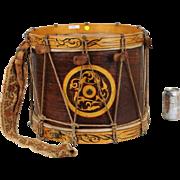 Very Rare John G. Pike Civil War Militia Drum
