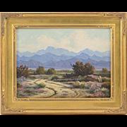Oil Painting by John Anthony Conner of Desert Landscape