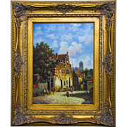 Original Oil Painting by Acclaimed Artist Ernst Huber