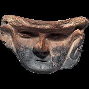 Pre-Columbian Mayan Terracotta Mask