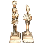 Set of Egyptian Bronze Figures