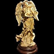 GIUSEPPE ARMANI (Italian) Sculpture, Angel w/ Flowers
