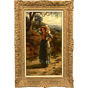 Exceptional 19th Century Original Oil Painting by Hugh Cameron