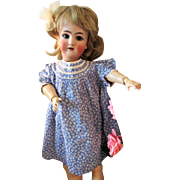 "Simon Halbig Heinrich Handwerck Antique Bisque Head Doll 27"" TLC"