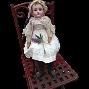 Kestner Bisque Shoulder Head Alphabet Series Doll