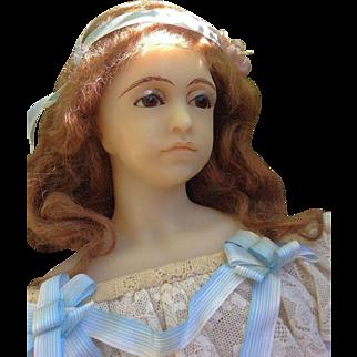Fabulous English Poured Wax Gillie Charlson Original Doll  1981
