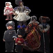 Vintage Collection 6 Travel Dolls
