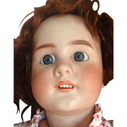 Antique DEP French Body Bisque Head Large Doll
