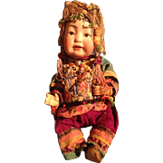 Antique Kestner 243 Chinese Baby Doll Entirely Original TLC