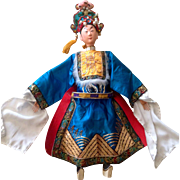 Huge Chinese Opera Doll Pre-WWII
