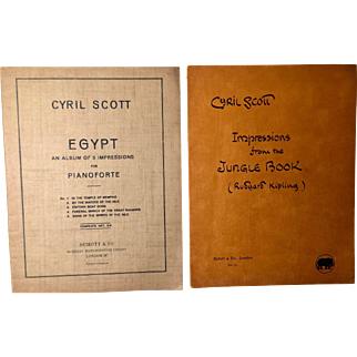 Two Cyril Scott Piano Albums