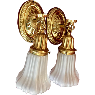 Antique Brass Sconses