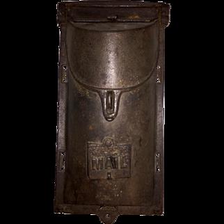 Vintage Cast Iron Mailbox
