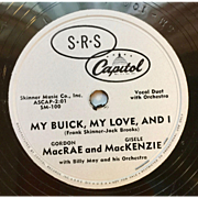 Buick Dealer's Advertising Record 1951