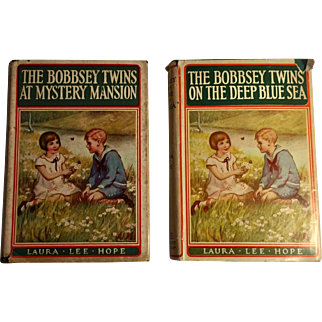Two Bobbsey Twins Books 1945