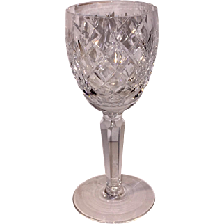 Signed Waterford Avorca Claret Wineglass