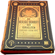1874 Gustave Dore German, Jewish Bible