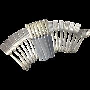 Vintage Daffodil Wm Rogers Silverplate Flatware Silverware Knives Forks Utensil Silver Plate