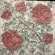 Doulton & Co Art Pottery Tile Antique Victorian Arts & Crafts Movement Art Nouveau
