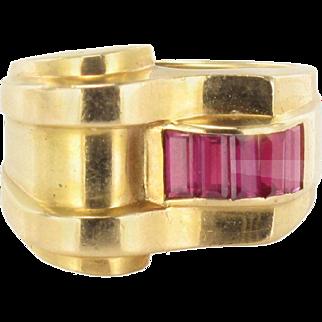 Original Ruby Tank Ring
