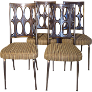 Lucite Chairs | Dining Room Chairs | 4 pc Set Chairs | Mid Century Modern Chairs