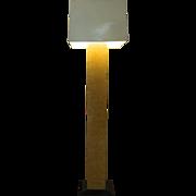 Original Paul Evans Style Floor Lamp   Mid Century Modern   Maple   Cityscape Lamp