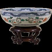 Imari Bowl | Antique Handpainted Japanese Dish Bowl | 19th Century Asian
