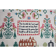 Cross Stitch Prayer | Framed Folk Art