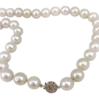 11mm-12mm South Sea Pearl Necklace