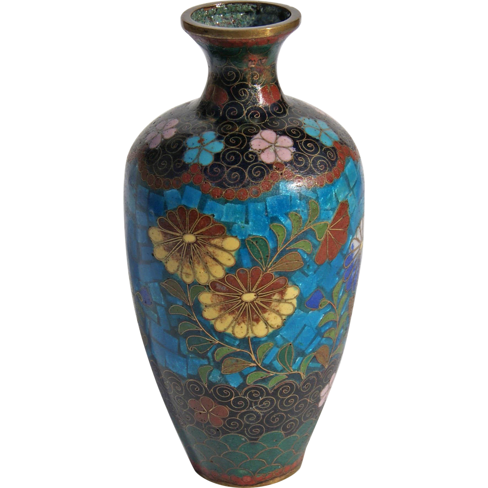 19th century japanese cloisonn vase from charles richards for Asian antiques west palm beach