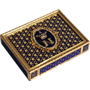 Italian Cigarette Case Done In The French Style